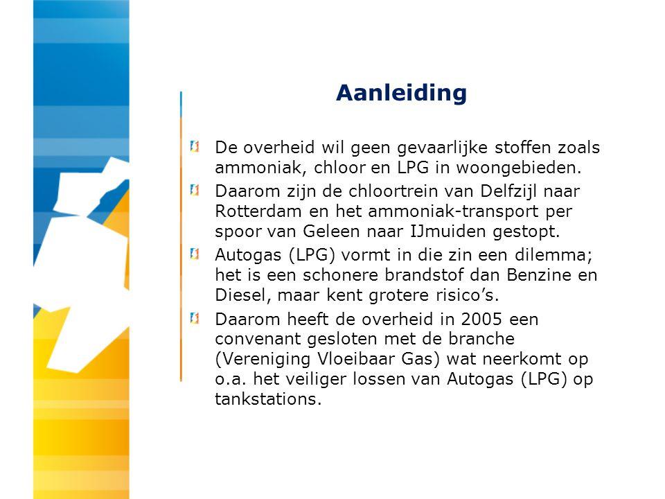 Grootste risico Autogas (LPG) wordt in Nederland bij vrijwel alle tankstations opgeslagen in ondergrondse tanks.