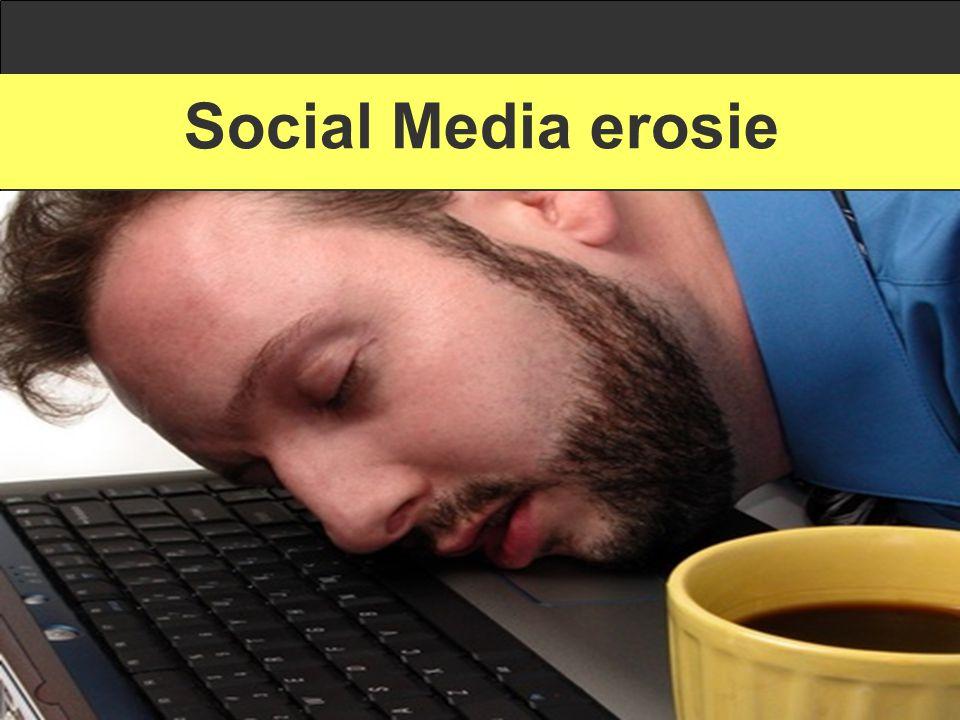 Social Media erosie