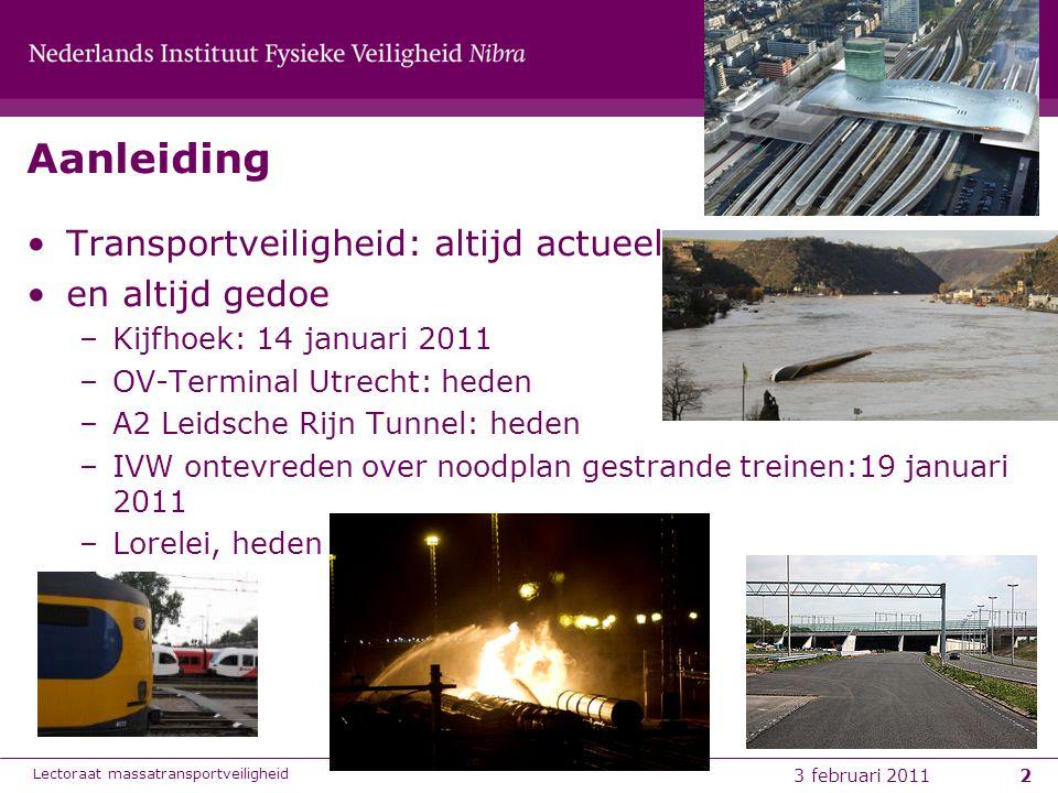 6-8-20143 Achtergrondinfo: transport, infrastructuur, ruimte, IM Lectoraat transportveiligheid