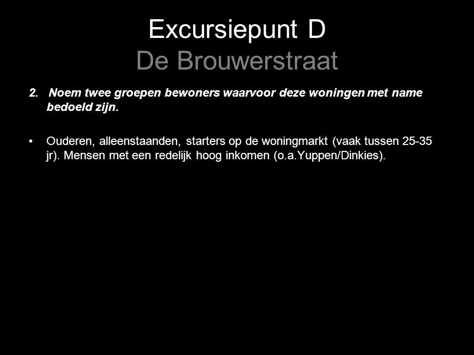 Excursiepunt D De Brouwerstraat 2.