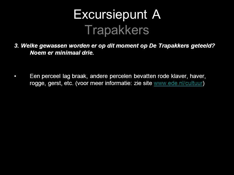 Excursiepunt A Trapakkers 4.Noteer de resultaten van de grondboring.