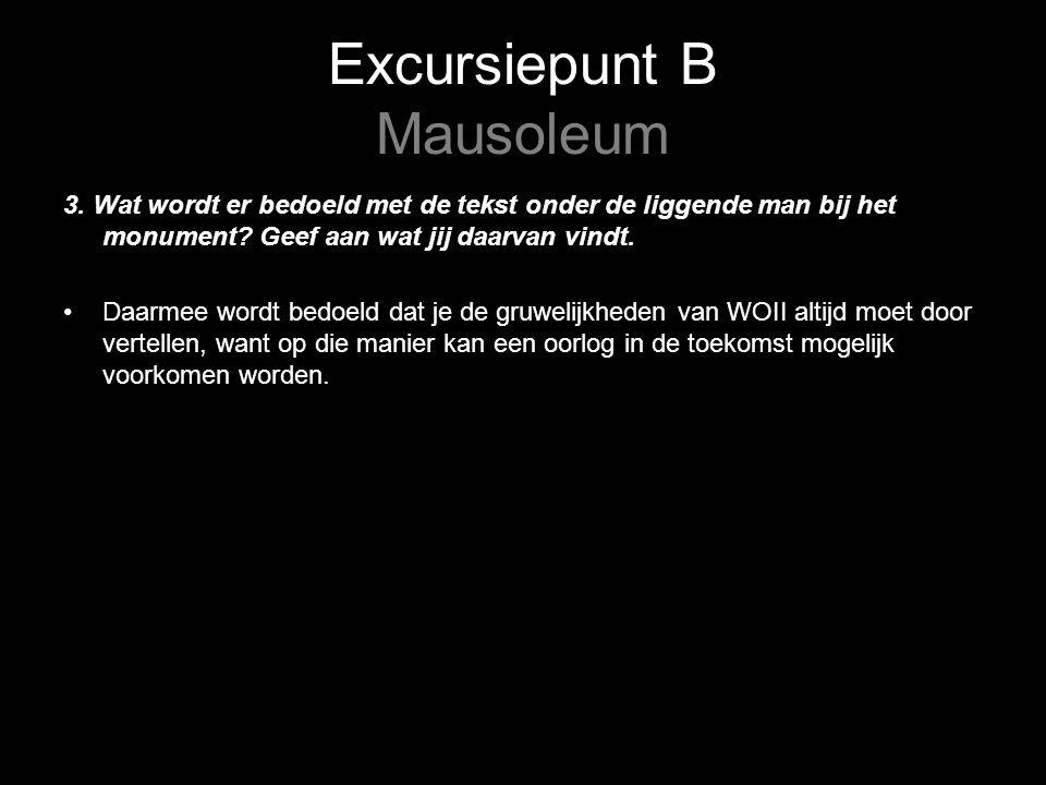 Excursiepunt B Mausoleum 3.