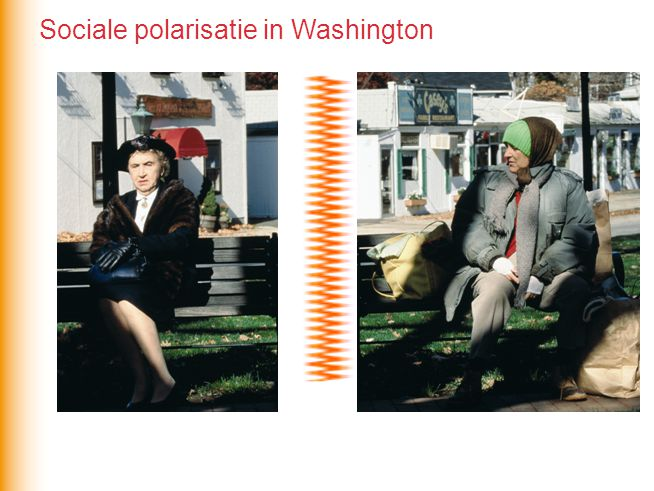 Sociale polarisatie in Washington