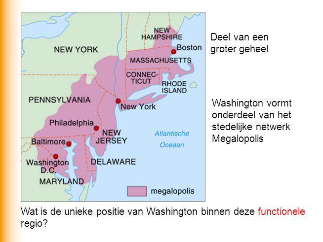 Washington is de federale hoofdstad van het machtigste land van de wereld.