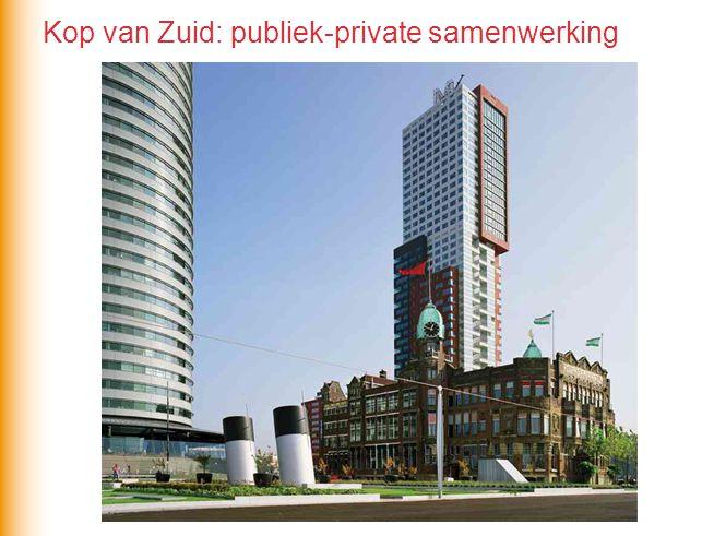 Kop van Zuid: publiek-private samenwerking