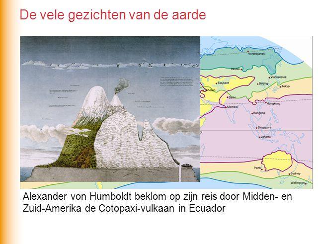 Alexander von Humboldt beklom op zijn reis door Midden- en Zuid-Amerika de Cotopaxi-vulkaan in Ecuador De vele gezichten van de aarde
