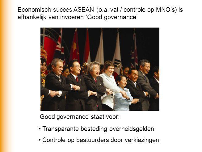 Economisch succes ASEAN (o.a.