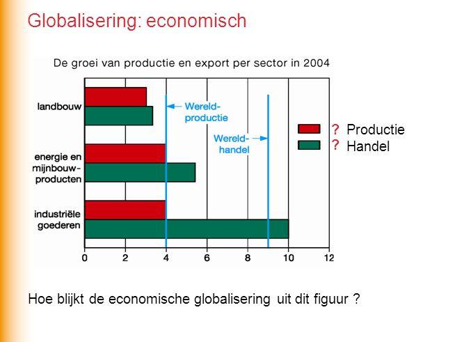 Hoe blijkt de economische globalisering uit dit figuur .