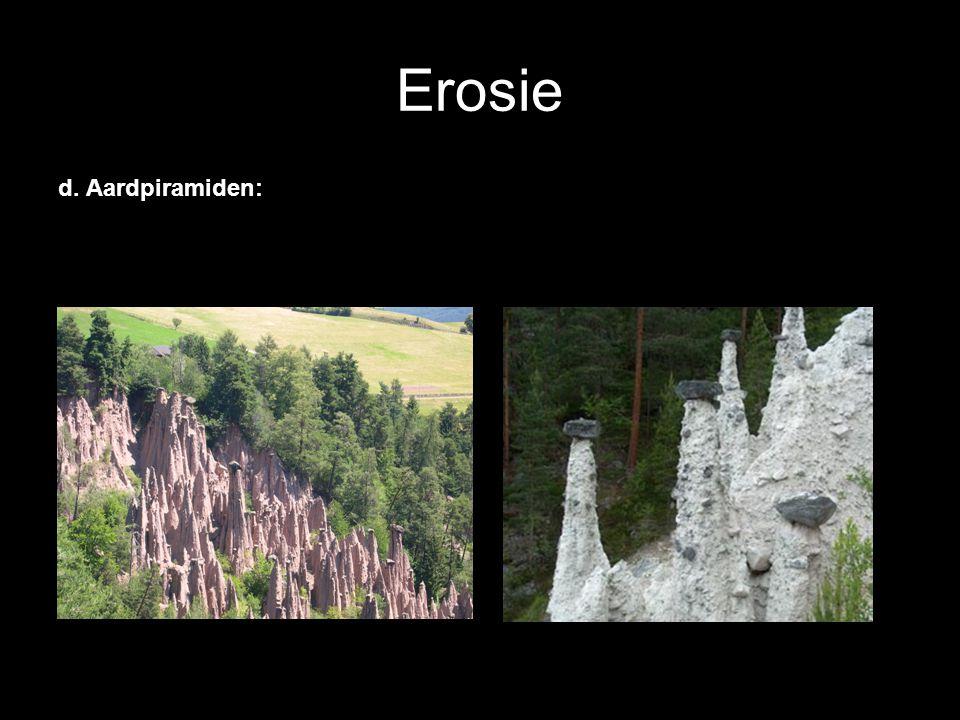 Erosie d. Aardpiramiden: