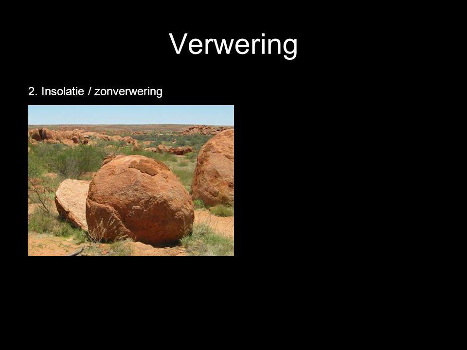 Verwering 2. Insolatie / zonverwering