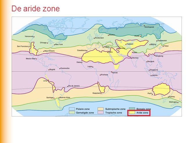 De aride zone