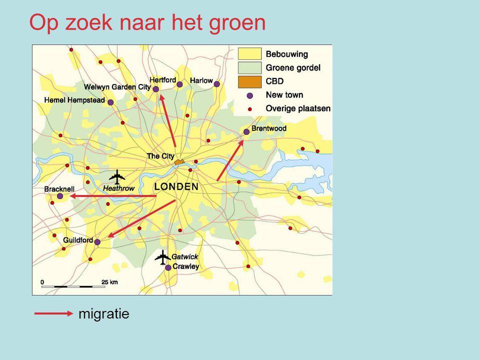 migratie Op zoek naar het groen