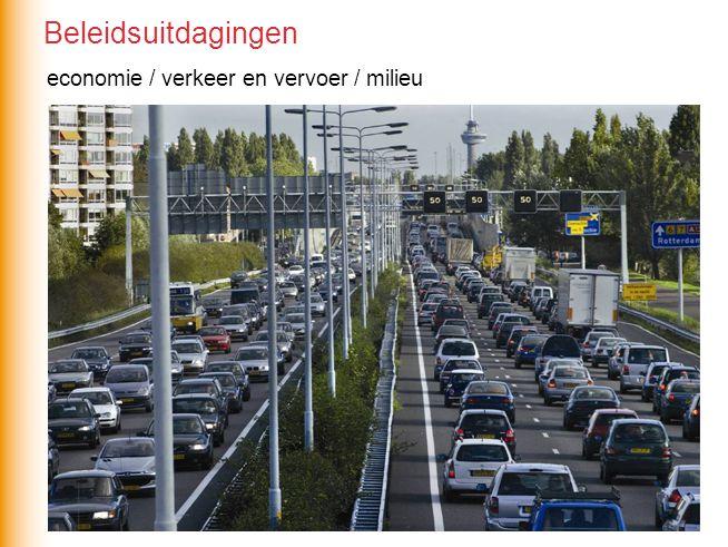 economie / verkeer en vervoer / milieu Beleidsuitdagingen