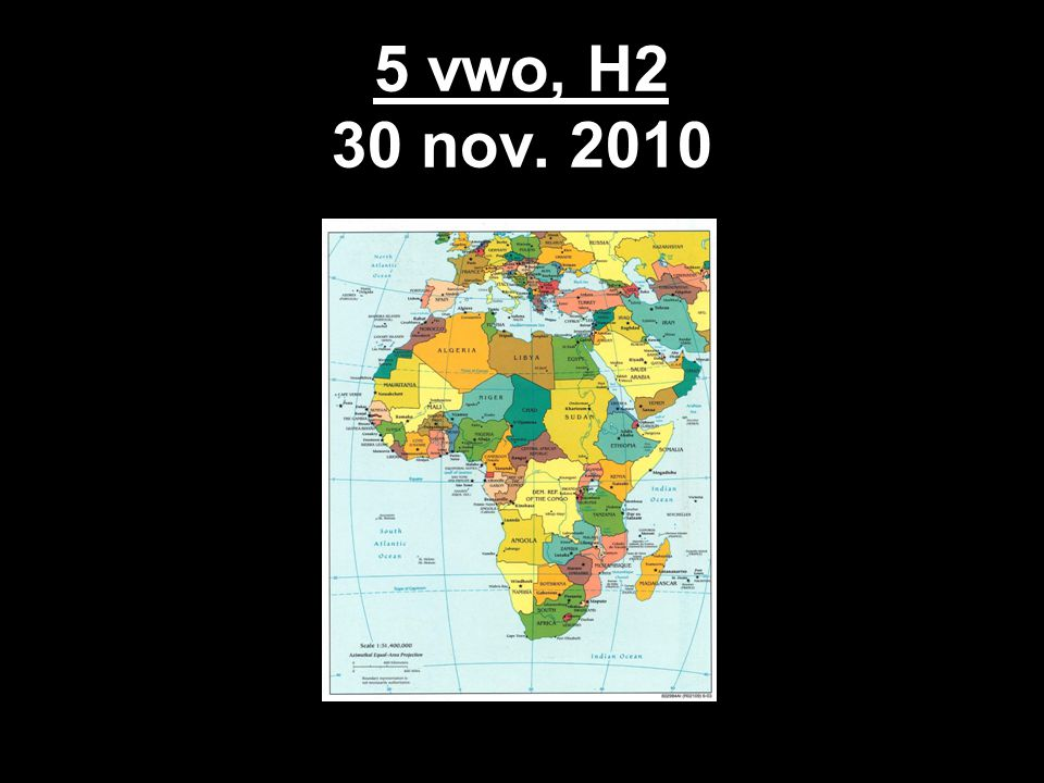 5 vwo, H2 30 nov. 2010