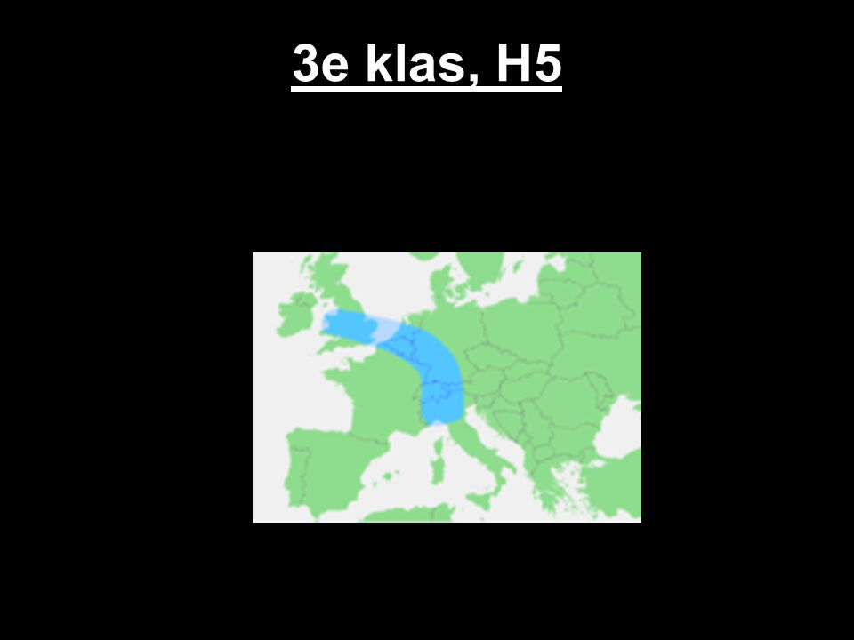 3e klas, H5
