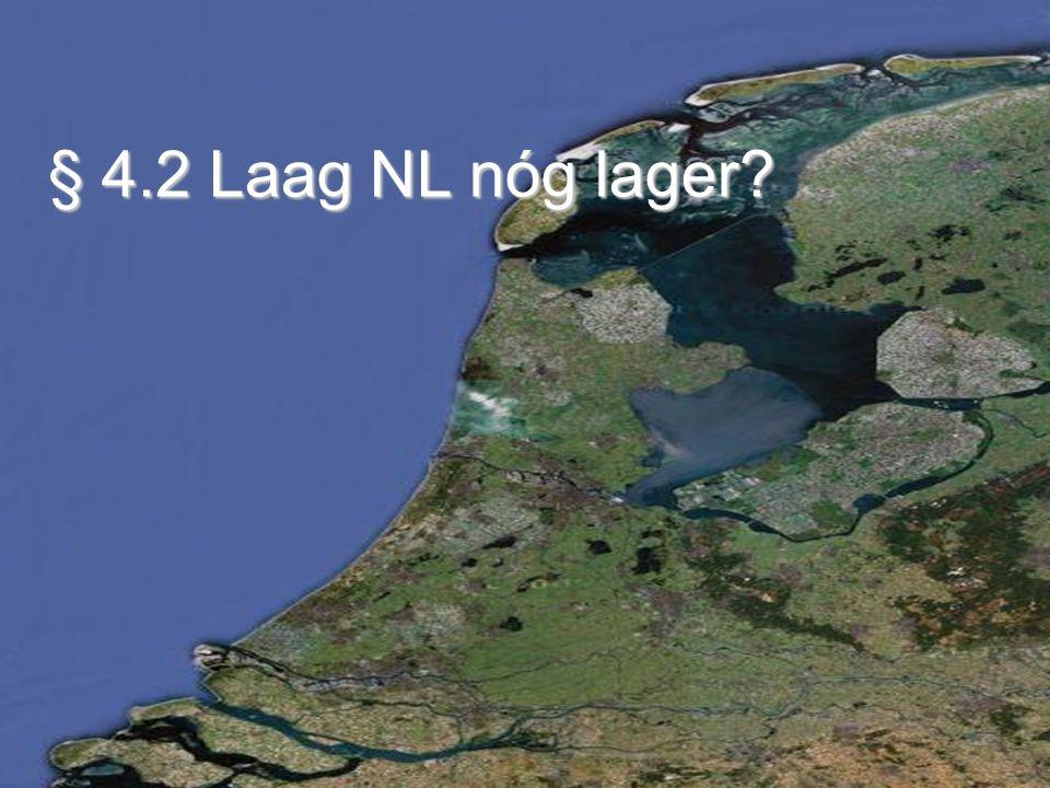 Polders in laag Nederland Een polder is een stuk land omgeven door dijken waarin de waterstand kunstmmatig geregeld kan worden.