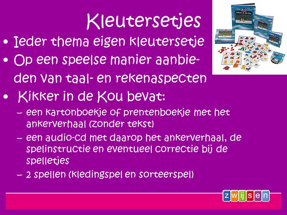 Schatzoekers 16 non-fictieboeken met luister-cd, laten de kleuters kennismaken met informatieve teksten.