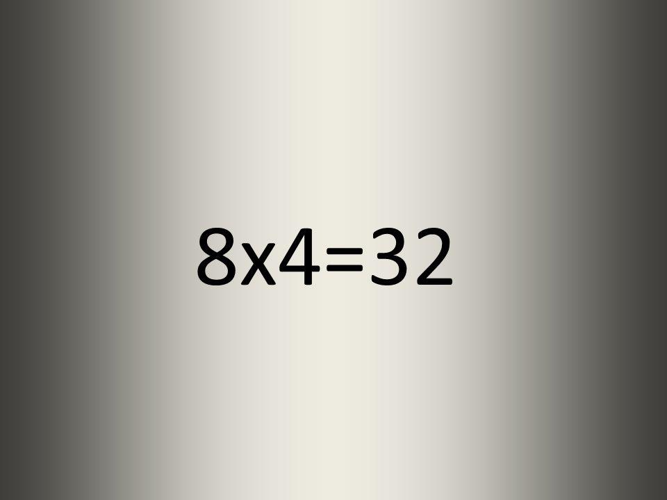 7x4=28