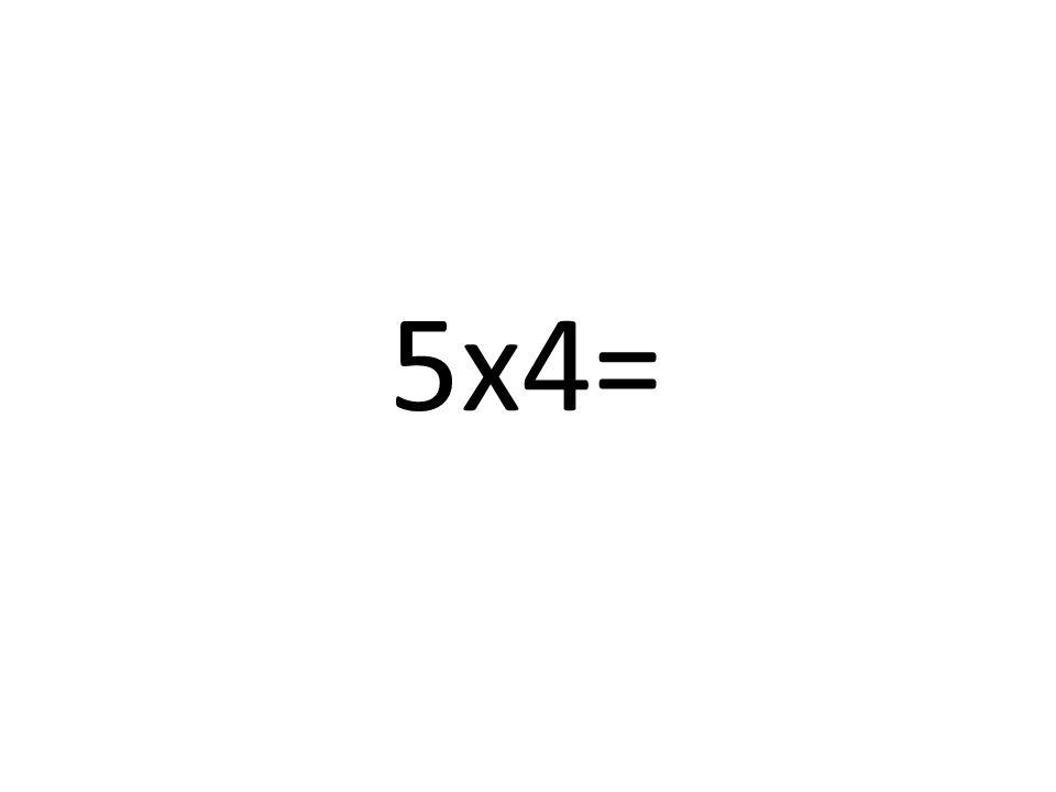= 6x4=