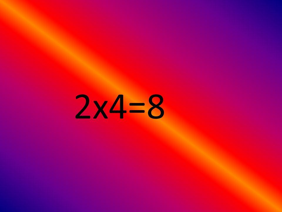1x4=4