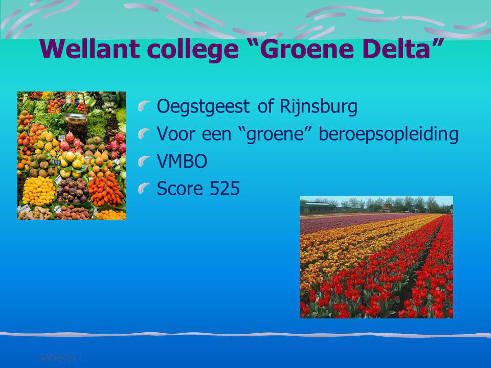 6-8-2014 Leiden Eén richting, géén brugjaar score 542: met VWO advies score 544: met HAVO/VWO advies