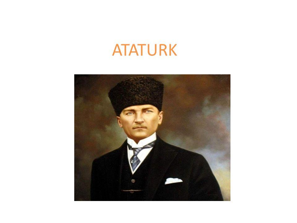 oorlog Mustafa Kemal Ataturk werd geboren in 1881 in het toen nog Ottomaanse rijk.