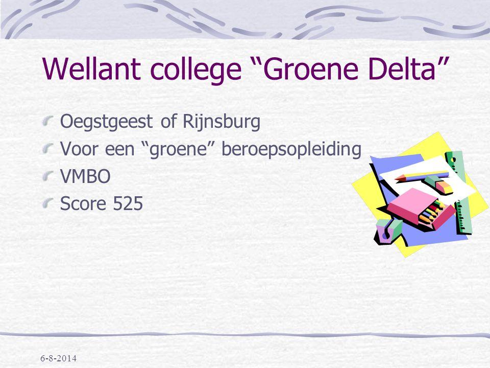 6-8-2014 Stedelijk Gymnasium Leiden Eén richting, géén brugjaar score 542: met VWO advies score 544: met HAVO/VWO advies