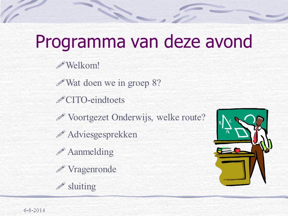 Presentatie Groep 8 Informatie-avond Willem de Zwijger 6 oktober 2009