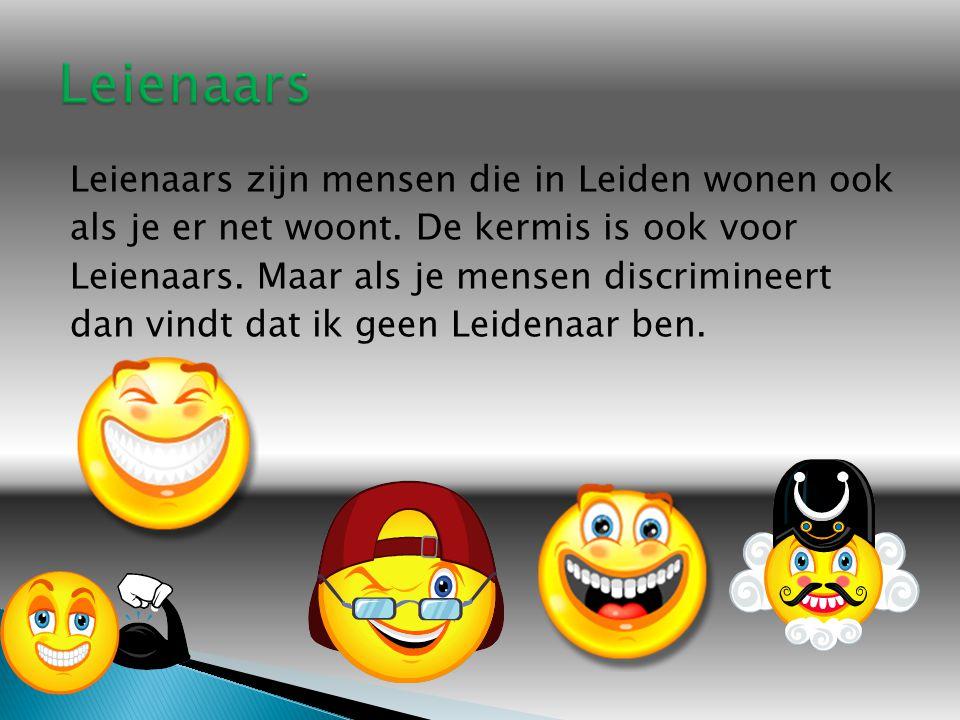 Leienaars zijn mensen die in Leiden wonen ook als je er net woont.