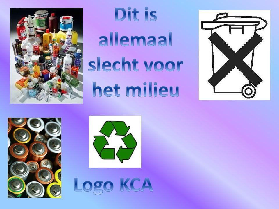Kca op verschillende plaatsen het verschilt het hoeveelheid afval.