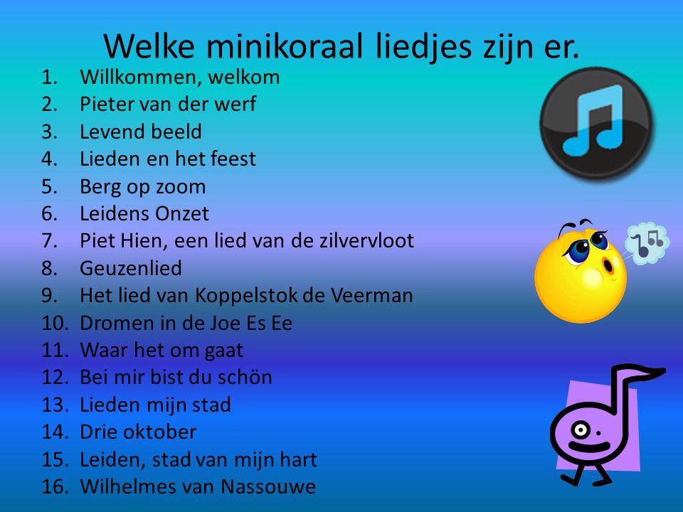 Wat moet je doen. Je moet met scholen liedjes zingen. Er is zijn veel scholen en er is een heel groot podium waar Pieter van der werf op zingt.