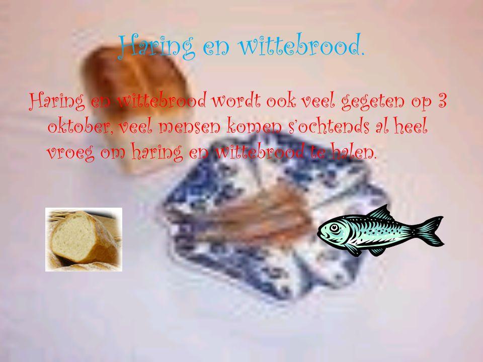 Haring en wittebrood.