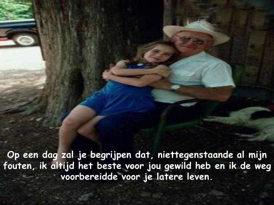 Probeer te begrijpen dat, op mijn leeftijd, je niet meer leeft maar eenvoudigweg slechts overleeft !