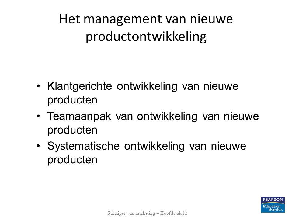 Productlevenscyclusstrategieën Na de introductie doorloopt een product een aantal fasen.