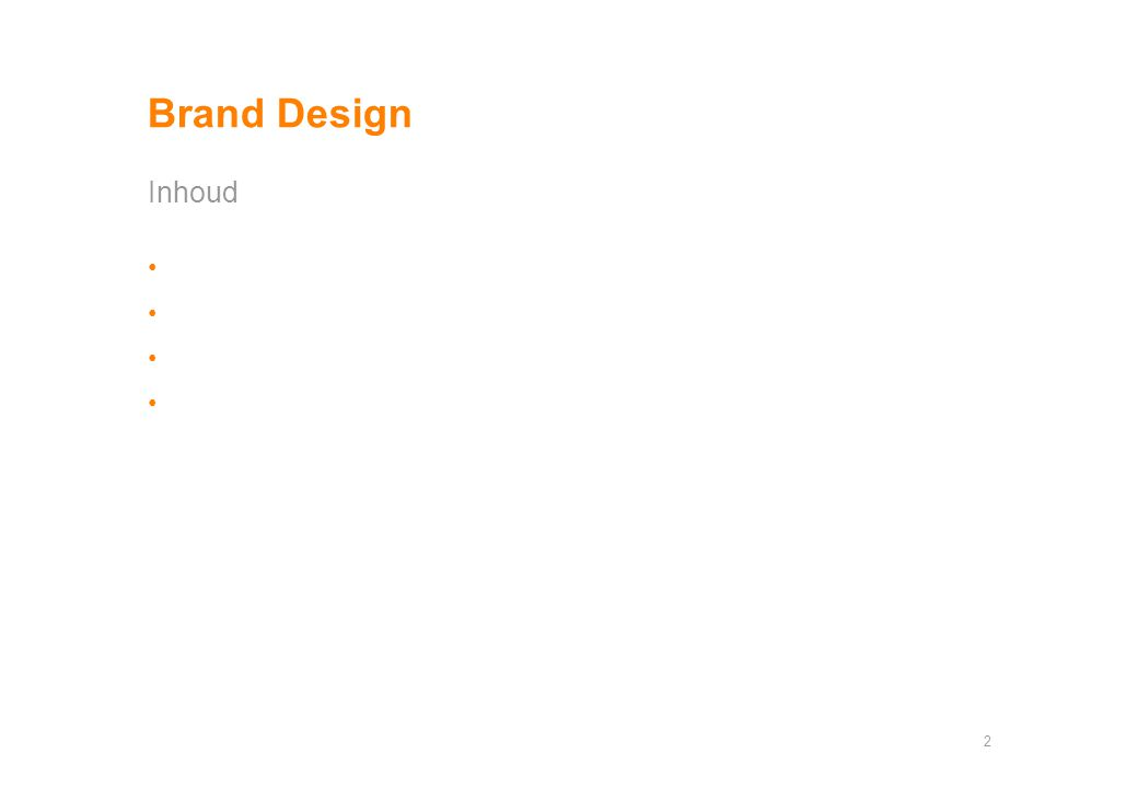 Brand Design Inhoud 2
