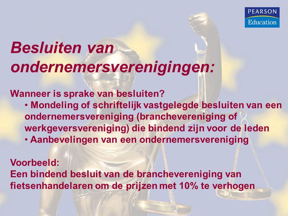Concentratieverordening 139/2004: Concentraties met een communautaire dimensie moeten door de betrokken ondernemingen worden aangemeld bij de Commissie (dia 29) Aanmelding moet plaatsvinden voordat de concentratie tot stand wordt gebracht Na aanmelding gaat de Commissie beoordelen of de concentratie verenigbaar is met de interne markt (dia 30)