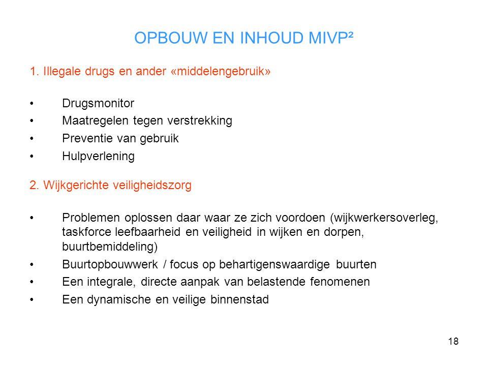 18 OPBOUW EN INHOUD MIVP² 1.