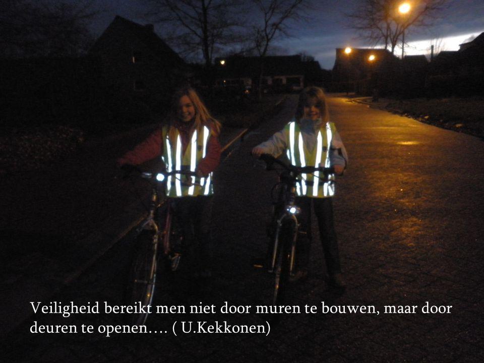 Veiligheid bereikt men niet door muren te bouwen, maar door deuren te openen…. ( U.Kekkonen)