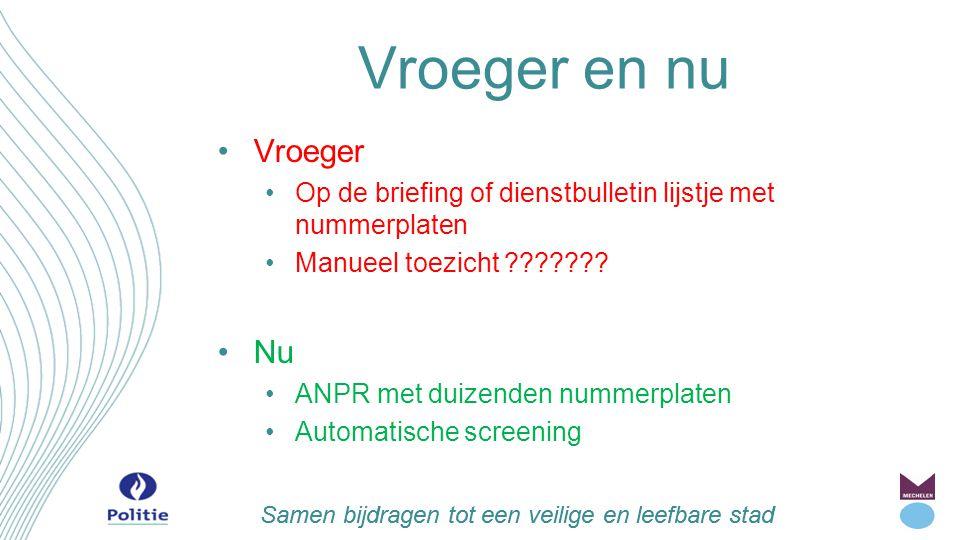 Samen bijdragen tot een veilige en leefbare stad Camerabewaking in Mechelen Klassieke videobewaking Openbaar domein (winkelzone/overlast) Politiegebouwen (o.a.