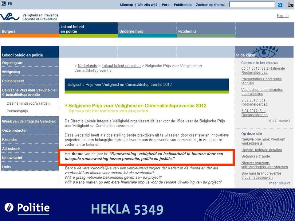 Expertise Centrum Dementie - Orion Enquête 2006: Behoeften politie & info rond dementie.
