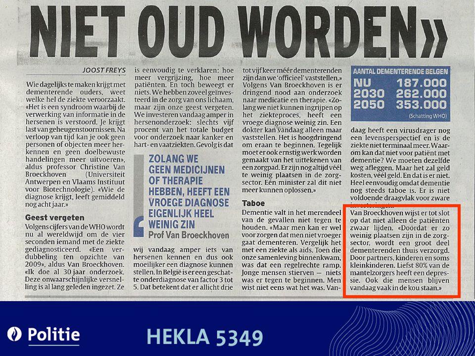 DE TOEKOMST Thuisgezondsheidszorg Woon- en zorgcentra Brussel & het Waals Gewest?