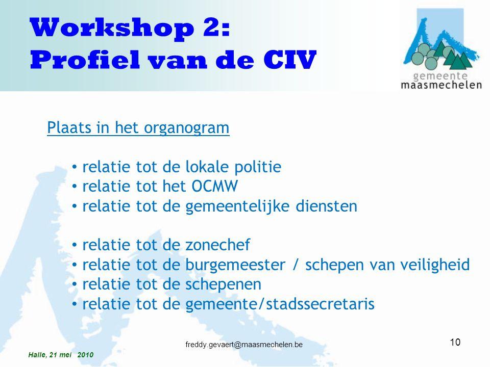 Plaats in het organogram relatie tot de lokale politie relatie tot het OCMW relatie tot de gemeentelijke diensten relatie tot de zonechef relatie tot