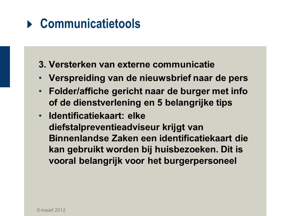 Communicatietools 3.