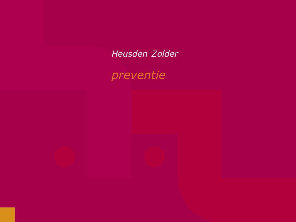 Heusden-Zolder preventie