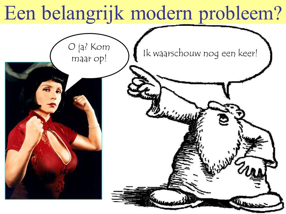 © 2006 JP van de Sande RuG Toch niet zo modern