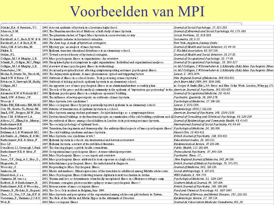 Twee jaar onverklaarbaarheid in Nederland Per jaar dus ca 8 uitbraken 90 slachtoffers Waarvan 40% kinderen of adolescenten Geen gevallen in Texel en Zeeland