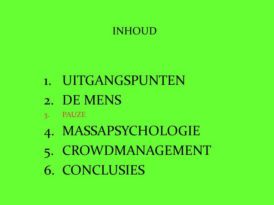 Verstandig omgaan met massasituaties Veiligheidsregio Friesland 23 mei 2011 24 Unox petjes 16 andere petjes 5 zien de fotograaf 8 kijken naar elkaar R