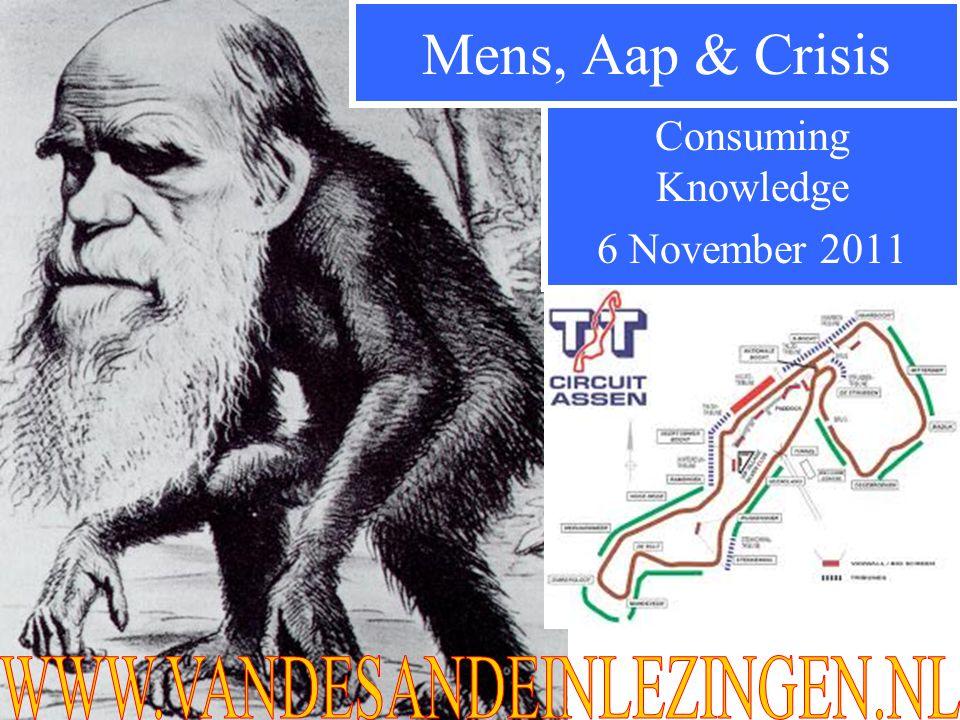 Consuming Knowledge 6 November 2011 Mens, Aap & Crisis