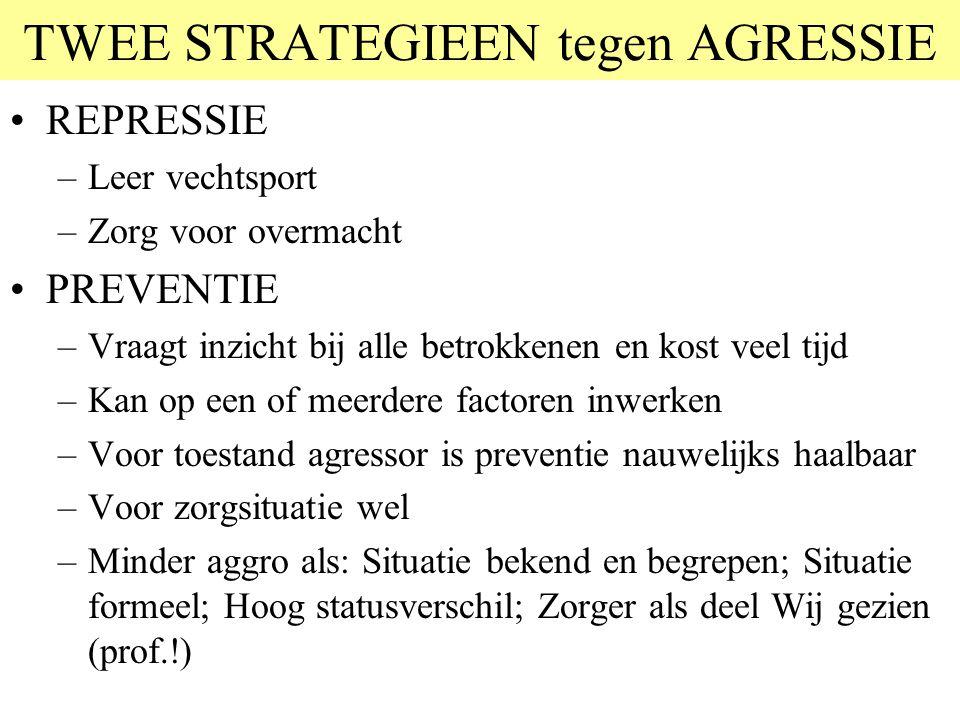 © 2006 JP van de Sande RuG Twee manieren van denken Alle 'tips & trucs' recepten om agressie- problemen op te lossen, horen eigenlijk bij de rechterka