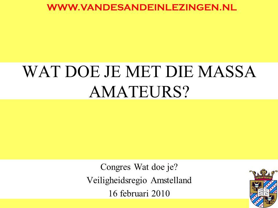 SOORTEN EVENEMENTEN GROOTSCHALIG <> KLEINSCHALIG –BIJV: Hadj (3 miljoen) <> Rommelmarkt (300) EEN PARTIJ <> TWEE (of meer) PARTIJEN –BIJV: Dance party <> Ajax-Feyenoord GEPROGRAMMEERD <> GEEN PROGRAMMA –BIJV: Concert <> Oudjaarsviering EXTERN DOEL <> AMUSEMENT –BIJV: Demonstratie <> TT nacht MIDDELENGEBRUIK <> DROOG –BIJV: Uitgaansavond <> congres Milli Görüş